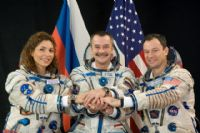 International Space Station Expedition 14 Official Crew Photograph with Anousheh Ansari #5